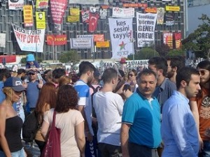 Protest in der Türkei - CC BY-NC-SA