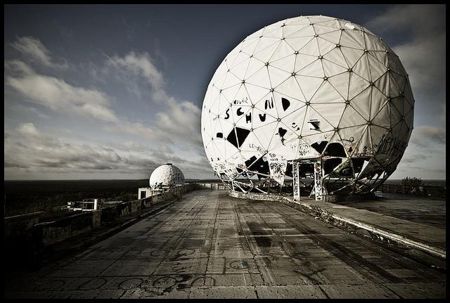 Echelon Überwachungszentrum der NSA - CC-BY-NC-ND BY:  Koen Colpaert